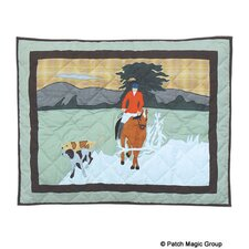 Fox Hunt Standard Pillow Sham