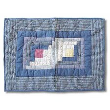 Sail Log Cabin Standard Pillow Sham