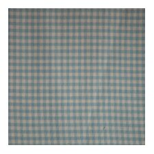 Blue Sky and White Gingham Checks Bed Skirt / Dust Ruffle