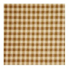 Brown and Golden Checks Toss Pillow