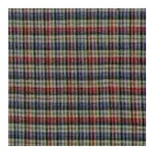 Tan and Blue Plaid Red Pink Line Euro Sham