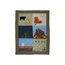 Rhyme Tyme Cotton Crib Quilt