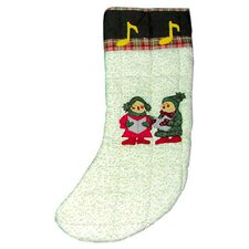 Carolers Stocking