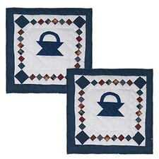 Sampler Basket Cotton Pillow (Set of 2)