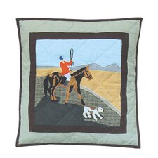 Fox Hunt Toss Pillow