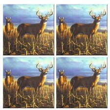 Tuftop Deer Local Legend Coasters (Set of 4)