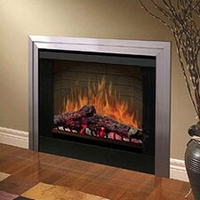 "33"" Glass Door for Built-In Electric Firebox"