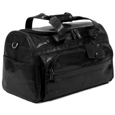 "Coleridge 18"" Leather Carry-On Duffel"