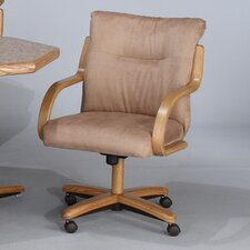 Chromcraft Core Tilt Swivel Arm Chair