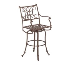 Chateau Swivel Bar Stool with Loose Cushion