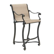 Villa Sling Small Stationary Bar Stool
