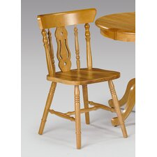 Durham Yorkshire Fiddleback Pine Dining Chair