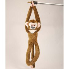 Hanging Squirrel Monkey Stuffed Animal