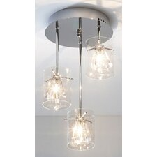 Somerset 3 Light Semi Flush Light
