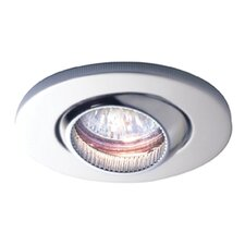 Eon Fire Rated Swivel Downlight in Satin Chrome