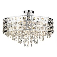Duchess 6 Light Semi Flush Light