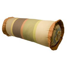Tuscan Garden Cotton Neck Roll Pillow