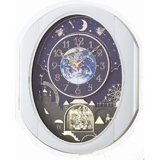 Peaceful Cosmos Entertainer Melody Clock