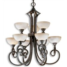 Legato 9 Light Chandelier