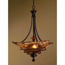 3 Light Vitalia Inverted Pendant