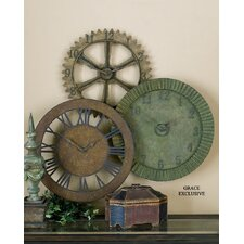 Rusty Gears Clock