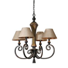 FW Generic Porano 4 Light Chandelier