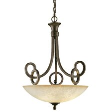 Legato 3 Light Uplight Inverted Pendant