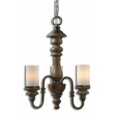 Torreano 3 Light Mini Chandelier