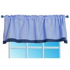 Transportation Rod Pocket Tailored Curtain Valance