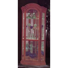 Lighthouse Serpentine Curio Cabinet