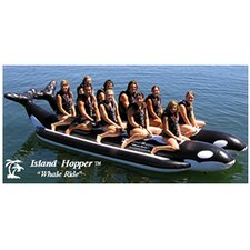 "10 - Passenger Elite Class Side By Side Heavy Commercial ""Whale Ride"" Banana Boat Water Sled"