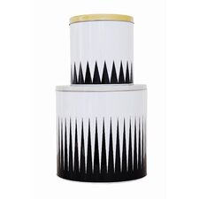 Spire Tin Boxes (Set of 2)