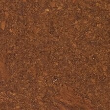 "11-3/4"" Engineered Hardwood Cork  Flooring in Mocha"