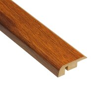 "0.5"" x 1.25"" Laminate Hawaiian Koa Carpet Reducer in Caramel"