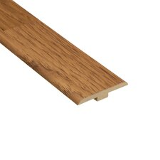 "0.25"" x 1.44"" Laminate T-Molding in Hickory"