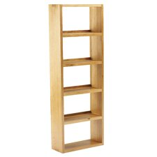Taunton 40cm DVD Rack in Medium Oak