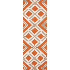 Fallon Orange/Red Rug