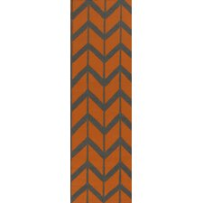 Fallon Burnt Orange Rug