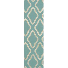 Fallon Dark Robin's Egg Blue Rug
