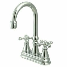 Madison Centerset Bar Faucet with Knight Cross Handles