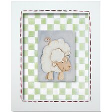 Western Sheep Framed Giclee Wall Art