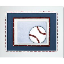 Sports Baseball Framed Giclee Wall Art