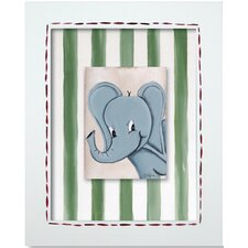 Safari Elephant Framed Giclee Wall Art