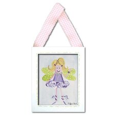 Fairy Framed Giclee - Blonde