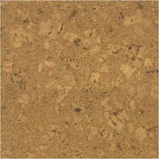 SAMPLE - Floor Tiles Solid Cork in Rusty