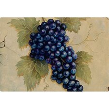 "9.5"" x 12.5"" Grapes Design Cutting Board"