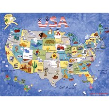 USA Map Play n' Placemat