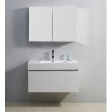"Zuri 39"" Single Bathroom Vanity Set"