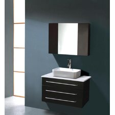 "Ivy 31.5"" Single Bathroom Vanity Set"