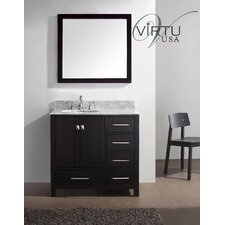"Caroline Avenue 36.8"" Single Sink Bathroom Vanity Set"